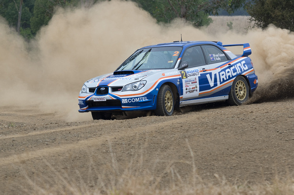 Car 2 - Subaru - Happy Valley stage