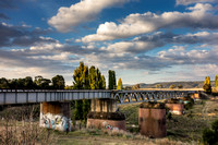 Railway bridge over Queanbeyan River