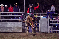 Red rider 2 - Bull riding - Kyogle Show